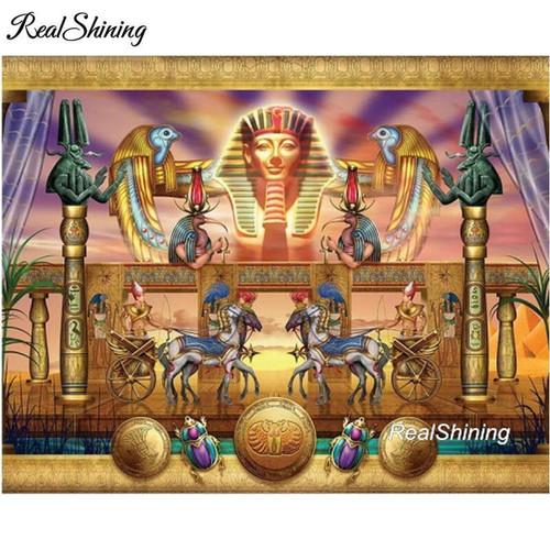 5D Diamond Painting Egyptian Collage Kit