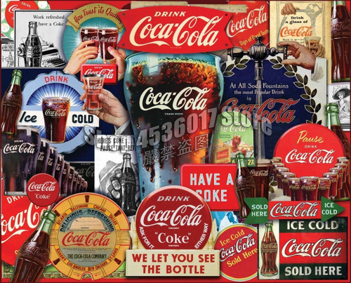 5D Diamond Painting Coca Cola Collage Kit
