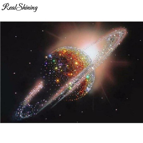 5D Diamond Painting Planet Kit