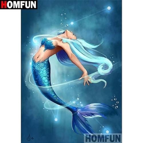 5D Diamond Painting Beautiful Mermaid Kit