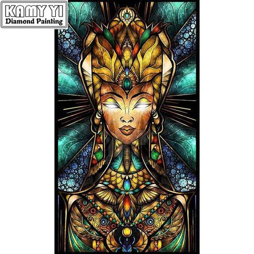 5D Diamond Painting Abstract Egyptian Goddess Kit
