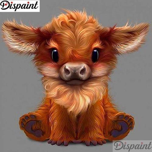 5D Diamond Painting Cute Little Calf Kit