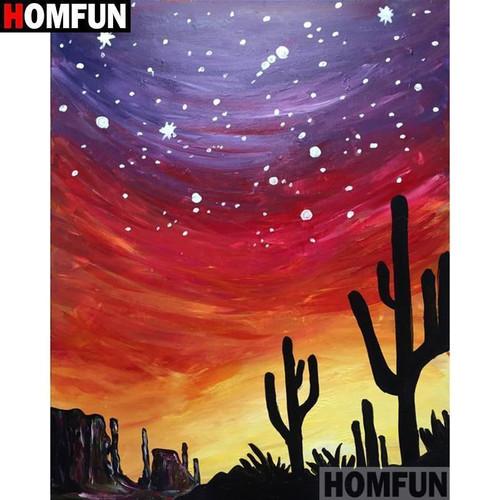 5D Diamond Painting Stars over the Desert Kit