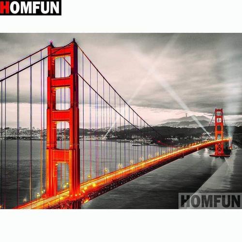 5D Diamond Painting Spotlight Bridge Kit