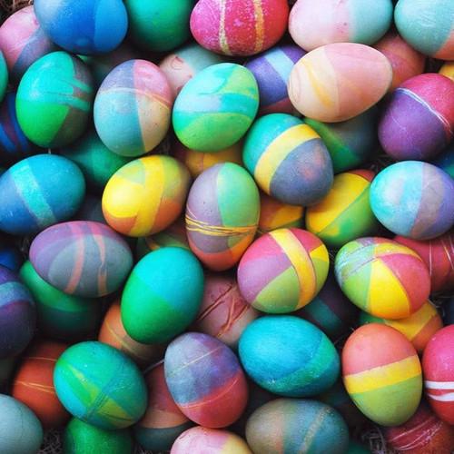 5D Diamond Painting Dyed Easter Eggs Kit