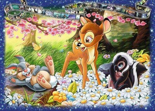5D Diamond Painting Bambi Movie Clip Kit