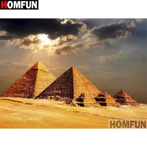 5D Diamond Painting Pyramids Kit