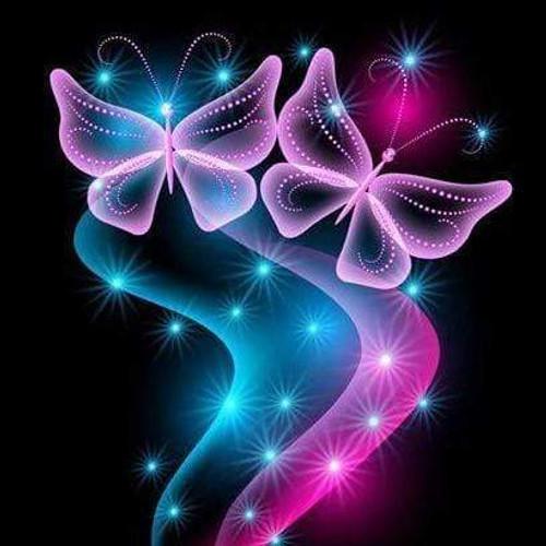 5D Diamond Painting Two Glowing Butterflies Kit