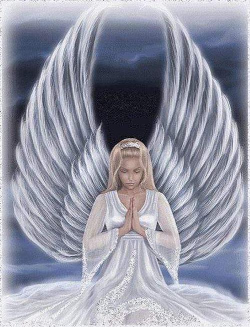 5D Diamond Painting Praying Angel Kit