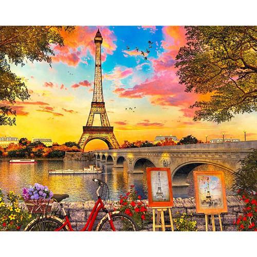 5D Diamond Painting Eiffel Tower Painting Kit