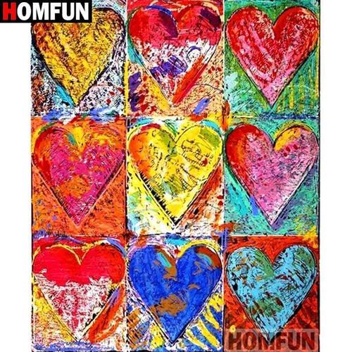 5D Diamond Painting Nine Hearts Kit