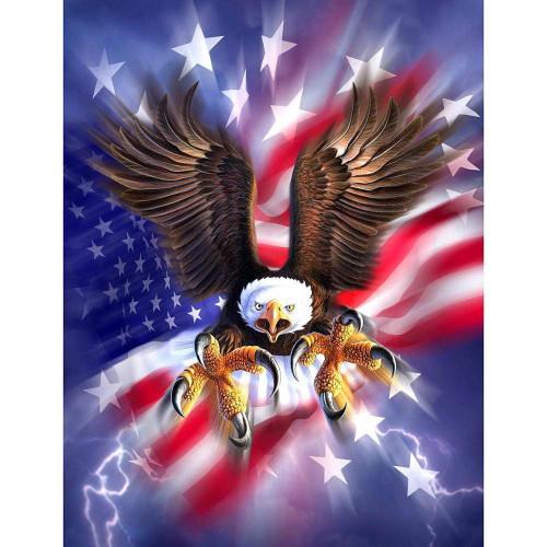 5D Diamond Painting American Eagle Talons Kit