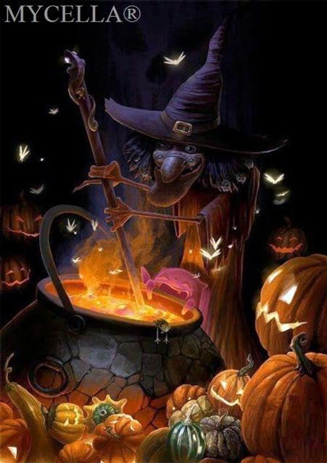 5D Diamond Painting Witches Brew Kit