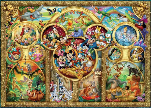 5D Diamond Painting Mickey Mouse Ears Disney Collage Kit