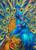 5D Diamond Painting Two Blue Peacocks Kit