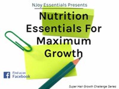 Nutrition Essentials For Maximum Growth