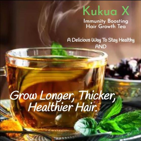 Kukua X Immunity Boosting Hair Growth Tea