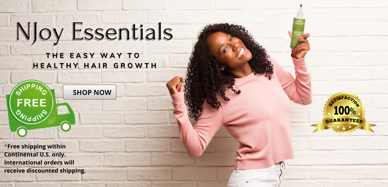 Shop NJoy Essentials. The easy way to healthy hair growth.
