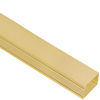 1 1/4″ W x 3/4″ H, 8 FT Cable Raceway Section in 160′ Bulk Pack- Ivory
