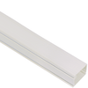 1 1/4″ W x 3/4″ H, 6 FT Cable Raceway Section in 120′ Bulk Pack- White