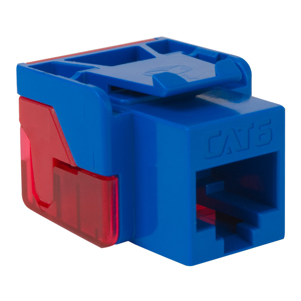 CAT6 RJ45 Keystone Jack for EZ® Style-BL