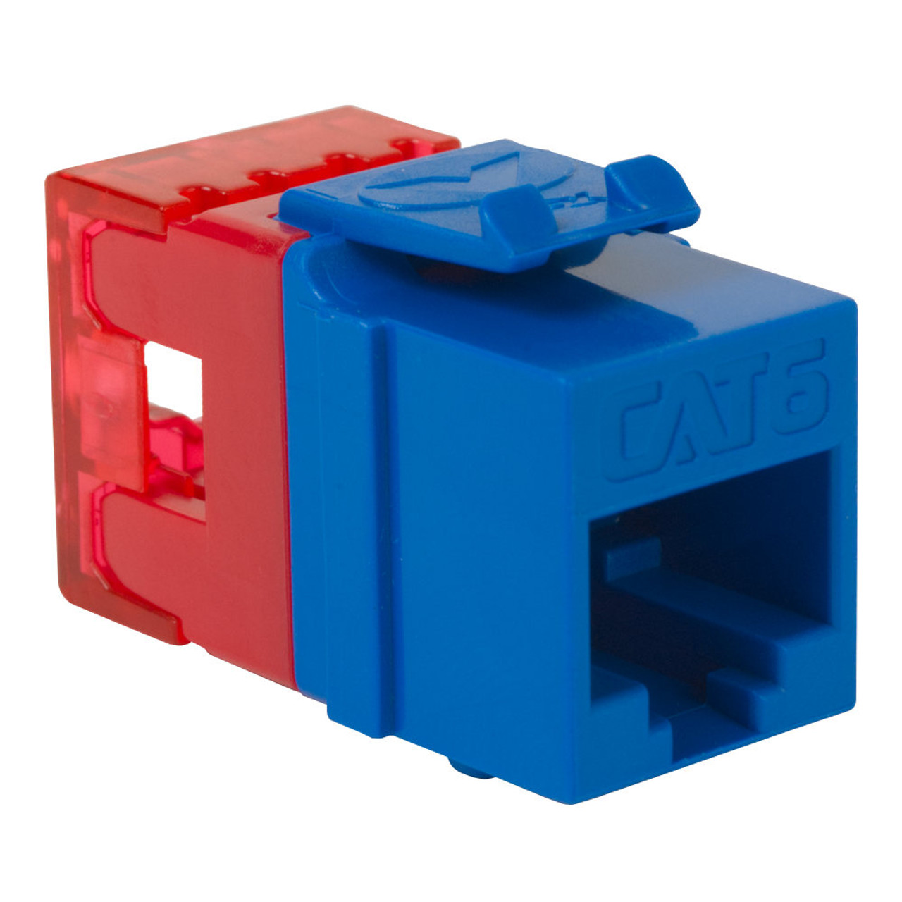 CAT6 RJ45 Keystone Jack for HD Style-Blue