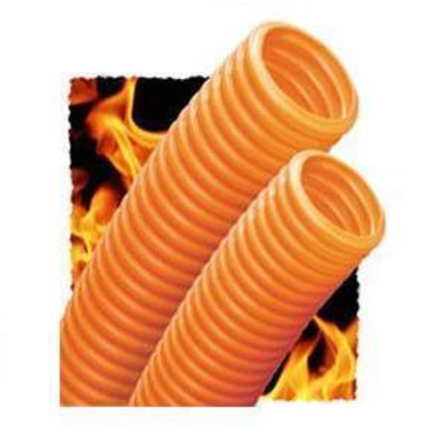 """Innerduct Plenum 1"""" Orange With Tape On 200' coiled in Box"""