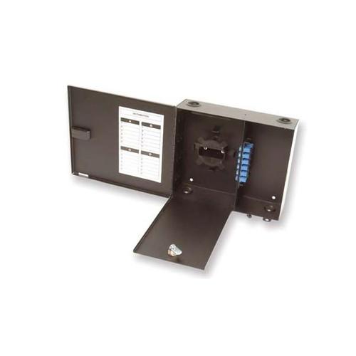 Fiber Enclosure, Wall Mount 2 Empty Panel Slots, Fiber Panels Sold Separately (Inner Compartment Lock)