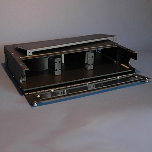 Fiber Enclosure Rack Mt.2U Accept 6 Adapter Panels