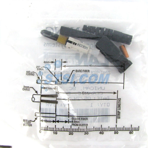 Fiber Corning Unicam Non-Pretium Ceramic Conn. SC 50um OM2