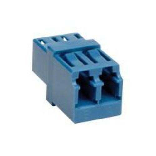Fiber Coupler LC/LC Duplex, Single/Multi Mode,Zirconia, Blue
