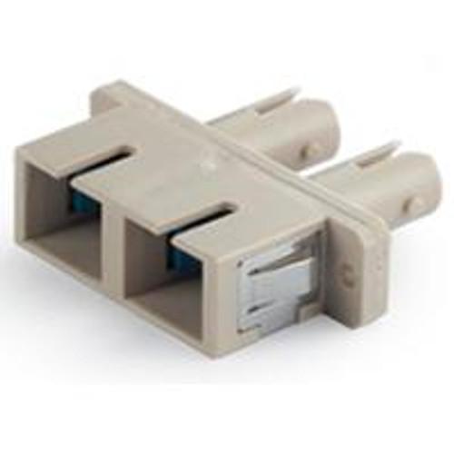 Fiber Adaptor SC/ST Duplex F/F (Zirconia Sleeve),single mode