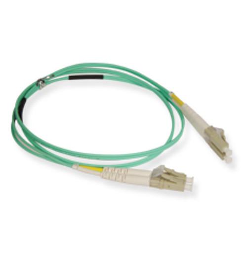 Fiber 10G aqua 50/125 LC/LC Duplex 1m (3.28 feet), ICC