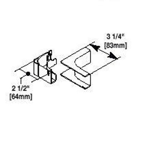 Internal Elbow CAT5/Fiber Optic