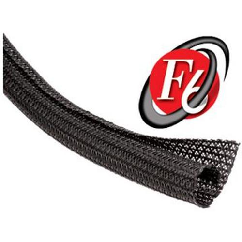 "Cable Wrap Split F6 1/2"" Black PET, 150' Per Box"