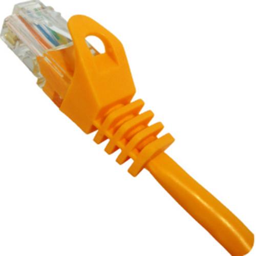UTP 2' CAT6 Orange Patch Cable With Ferrari Boots 568B