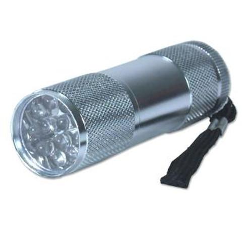 Flashlight, 12 LED pocket size + 3 AAA batteries