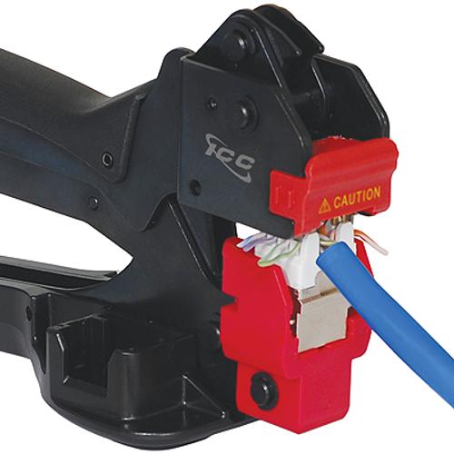 Jack HD (High Density) RJ45 CAT6A FTP Shielded ICC