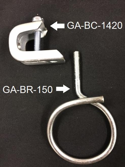 "Bridle Ring 1-1/2""w/1/4-20 Threaded"