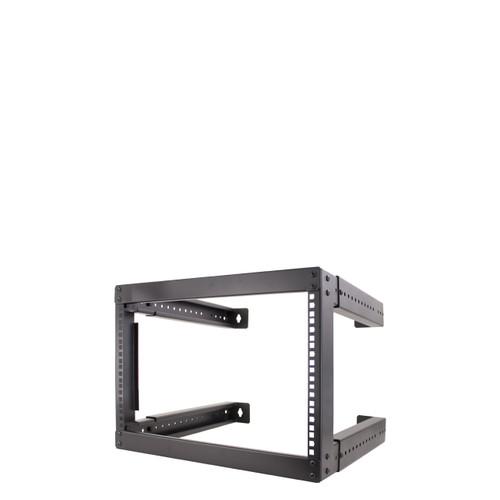 "20U OPEN FIXED WALL MOUNT Rack, Adjustable depth from 18"" - 30"",Steel frame open wall mount"