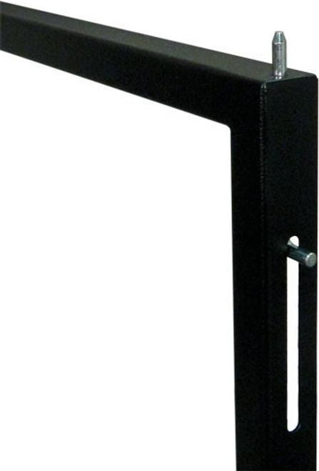 """9U Wall Mount Open Frame Rack – Front Swing Out 20.80""""H x 21.65""""W x 18""""-30""""D 66 LBS RATED"""