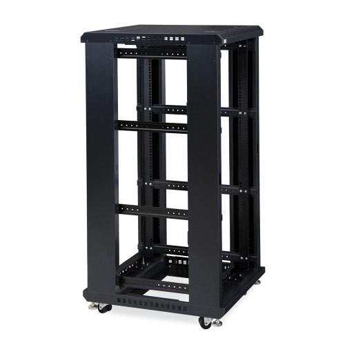 "27U LINIER® Server Cabinet - No Doors/No Side Panels - 24"" Depth"