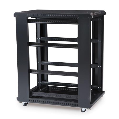 "22U LINIER® Server Cabinet - No Doors/No Side Panels - 36"" Depth"