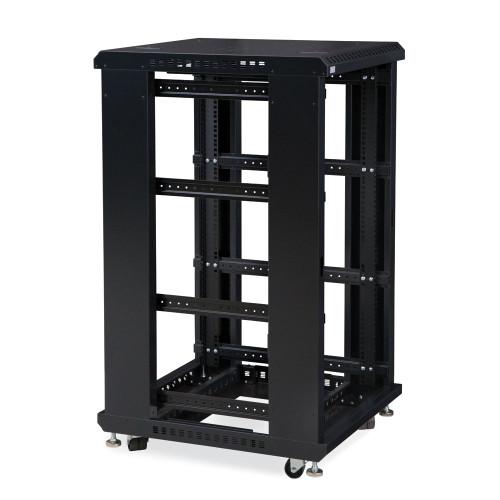 "22U LINIER® Server Cabinet - No Doors/No Side Panels - 24"" Depth"