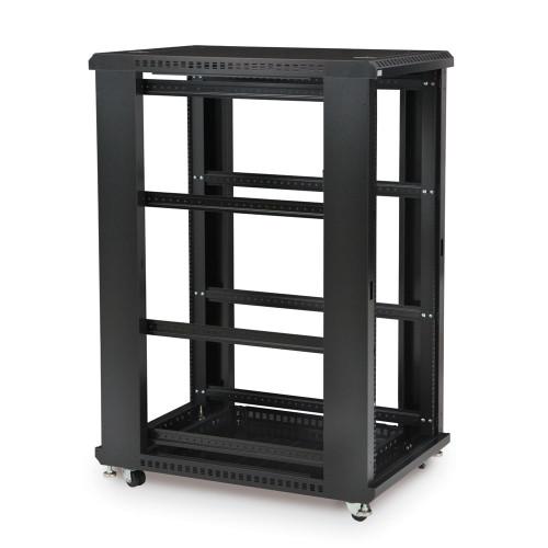 "27U LINIER® Server Cabinet - No Doors/No Side Panels - 36"" Depth"