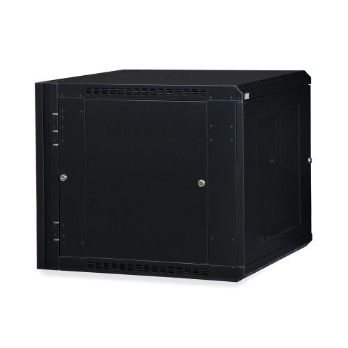 12U LINIER® Swing-Out Wall Mount Cabinet - Vented Door