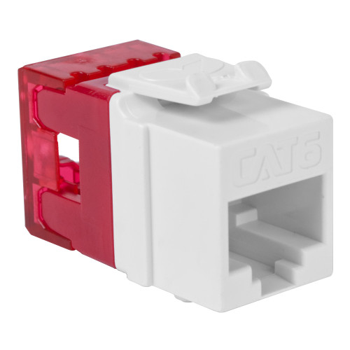 CAT6 RJ45 Keystone Jack for HD Style-WH