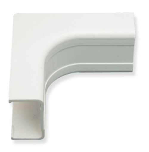 1 1/4″ Cable Raceway Inside Corner - 10-Pack-White