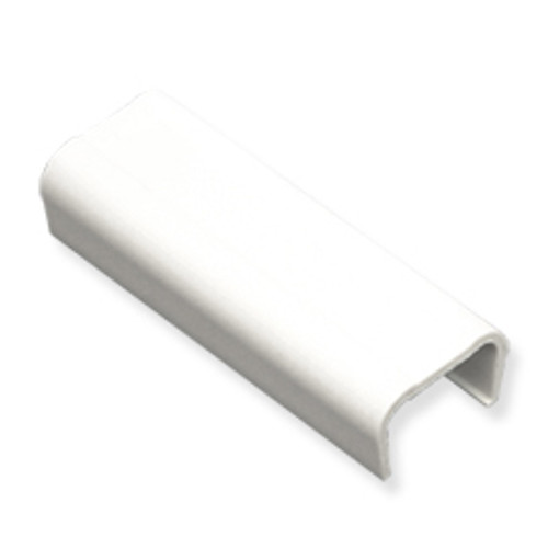 1 1/4″ Cable Raceway Joint Cover-10-Pack-White