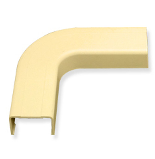 1 1/4″ Cable Raceway Flat Elbow-10-Pack-Ivory